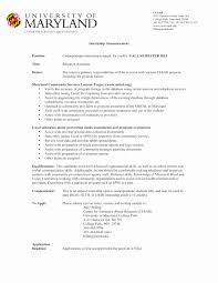 Undergraduate Research Assistant Resume Example New Template For Students