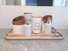 A Clever Use Of Kitchen Pieces In The Bathroom Kmart Australia Style