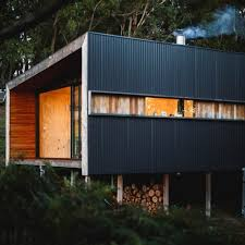 Cheap Shed Cladding Ideas by Accessories Modern House Style With Grey Metal Cladding Wall And