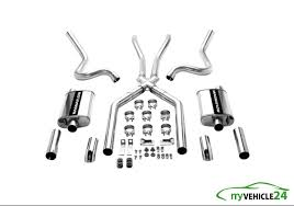 100 Dual Exhaust For Trucks MagnaFlow With XPipe Kit 212 Stainless Steel P15815