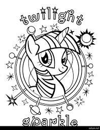 My Little Pony Coloring Pages Princess Luna Filly Free Sheets Q Book Colouring