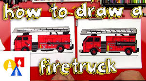 100 Fire Truck Drawing How To Draw A How To Draw For Children Pinterest