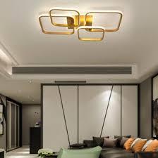details zu led deckenle schlafzimmer deckenleuchte deko chic gold designer dimmbar le