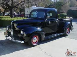 1941 Ford Hot Rod Pickup - Chevy 350/350 - Dropped Axle - 4 Wheel ...