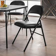 Stakmore Folding Chairs Amazon by Amazon Com Meco Sudden Comfort Padded Folding Chair 2 Pack