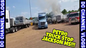 SEMI TRUCK FIRE JACKSON MS PETRO TRUCK STOP / VLOG - YouTube