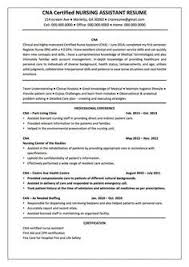 Cna Resume Templates Fresh Sample Examples Pinterest Of Awesome Proper