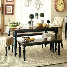 Pier 1 Dining Table Turned Leg Rubbed Black