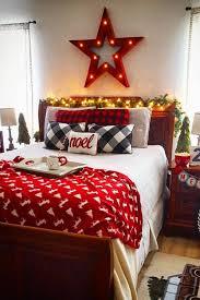 schlafzimmer gemütlich gestalten zu weihnachten 22