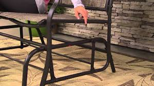 Shermag Rocking Chair Assembly by Bliss Hammocks 2 Person Loveseat Glider Chair With Jennifer Coffey