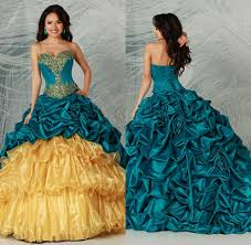 best price navy blue and yellow quinceanera dress beautiful ball