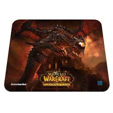 steelseries qck edition limitée world of warcraft cataclysm