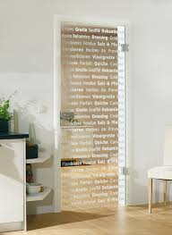 Decorative Glass Door For Kitchen Or Dining Room By Bartels