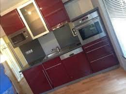 einbauküche quelle küchen farbe bordeaux rot hochglanz