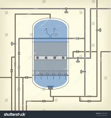 Water Tank Pipes Pictures by Info Graphics Scheme Liquid Water Tank Stock Vector 283364708