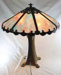Tiffany Style Lamps Vintage by 118 Best Slag Lamps Images On Pinterest Glass Lamps Antique