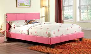 Furniture of America Torrance Platform Bed with Bluetooth Speakers