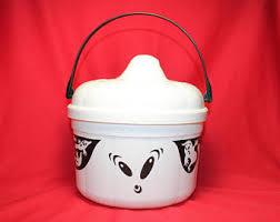 Mcdonalds Halloween Buckets by Vintage Halloween Bucket Etsy