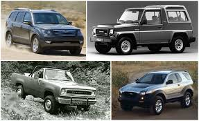 Gone Without A Trace: These Are The Forgotten SUVs