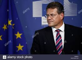 100 Sefcovic Brussels Belgium 18th September 2018VicePresident Of The EU