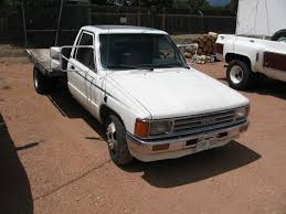 100 Toyota 4 Cylinder Trucks 1987 Automatic Dual Wheel Truck Vehicles That