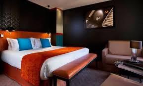 chambre orange et marron décoration chambre orange et noir 88 chambre ado orange et