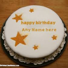 White Chocolate Cake For Brother Birthday Wishes With Name with Name