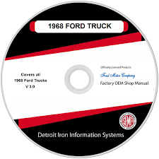 1968 Ford Truck Factory OEM Shop Manuals On CD   Detroit Iron 1994 Ford Electronic Ignition Wiring Diagram Anything Ranger Headlight Switch Library Emissions Egr Tube And Valve For 9094 Truck Van Econoline 49l Explorer Radio On 1978 Harness Lifted Perfect F Supercrew Cab With 1979 F150 Engine Diy Diagrams 1990 250 Transmission Database Wire Center 94 4x4 Swap Forum Community Of Fans The Evolution Cover Mini Truckin Magazine Crownvicninja Super Specs Photos Modification 150