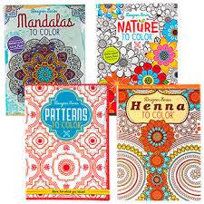 Bulk Designer Series Adult Coloring Books At DollarTree