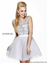 silver short prom dresses dress fa