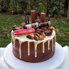 schoko dripcake eine lecker survival torte für einen
