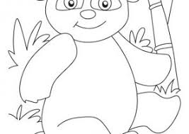 Panda Coloring Pages For Preschool Coloring4free
