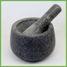 mortier de cuisine de haute qualité cuisine agate mortier et pilon bon prix granit