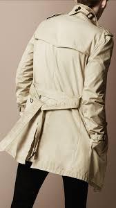 burberry brit men overdyed cotton trench coat men u0027s fashion