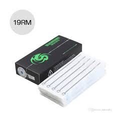 100 Where Is Dhgate Located Wholesale Sterilized Tattoo Needles Flat Shaders MT 19RM Best