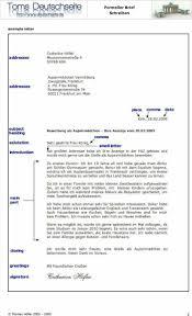 Einen Brief Schreiben Beispiel Bewerbungsschreiben Bewerbungsschreiben