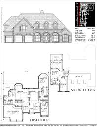 100 Picture Of Two Story House Plan C7258