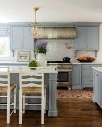 white and gray kitchen subscribed me