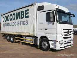 100 Mercedes Semi Truck Benz 2546 Curtain Leicester Curtainsider Trucks Price