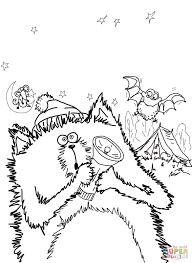 Click The Splat Cat Good Night Sleep Tight Coloring Pages