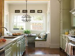 Kitchen Small Galley Island Layout Design In Modern Living