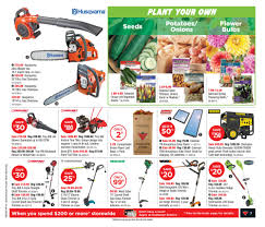 Husqvarna Tile Saw Canada by Canadian Tire Weekly Flyer Weekly Flyer Apr 17 U2013 23