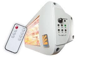 bad infrarot heizstrahler mit fernbedienung und