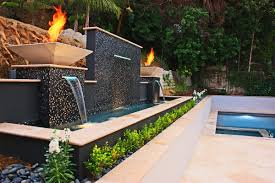 Design Ideas: Interior Decorating And Home Design Ideas.. Loggr.me Ndered Wall But Without Capping Note Colour Of Wooden Fence Too Best 25 Bluestone Patio Ideas On Pinterest Outdoor Tile For Backyards Impressive Water Wall With Steel Cables Four Seasons Canvas How To Make Your Home Interior Looks Fresh And Enjoyable Sandtex Feature In Purple Frenzy Great Outdoors An Outdoor Feature Onyx Really Stands Out Backyard Backyard Ideas Garden Design Cotswold Cladding Retaing Water Supplied By