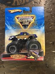 100 Shark Wreak Monster Truck 2008 MONSTER JAM INSTIGATOR 1975 Now Then Forever Collectibles