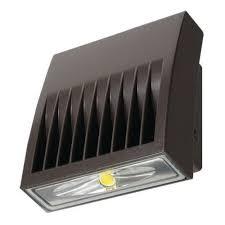 38 watt led wall pack 5000k cooper lighting xtor4b