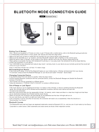 V Rocker Gaming Chair Power Adapter by Bt21 X Rocker Chair User Manual Ace Bayou Corp