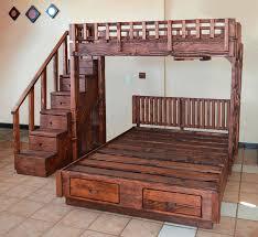 Loft Beds King Loft Bed Plans Bunk Over Twin Queen Beds king