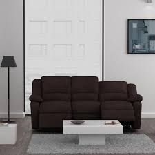 canape relax tissu relax canapé 3 places relaxation tissu marron achat vente
