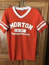 Morton Pumpkin Festival Hours by Best Pumpkin Festival Shirt Brand New For Sale In Morton